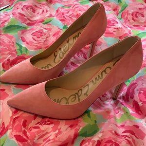 pink heels 7.5